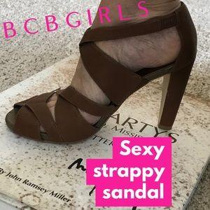 BCBGIRLS strappy heels